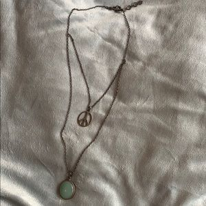 Jewelry - Lucky Brand hanging 2 tier Necklace